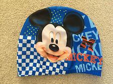MICKEY MOUSE Swimming Hat Boys girls Swim Cap UK SELLER Hygiene Cap NEW