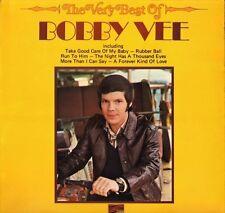 BOBBY VEE the very best of SLS 50271 uk sunset reissue LP PS EX/EX