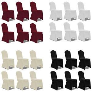 6x stuhlhussen stretch universell stuhl berzug stuhlbezug for Hussen hochzeit