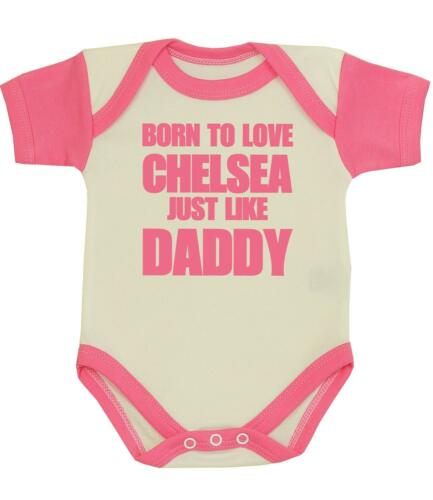 BabyPrem Baby Clothes Boys Girls CHELSEA Daddy One-Piece Creeper Shower Gifts