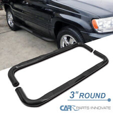 MaxMate Premium Compatible with 1999-2004 Jeep Grand Cherokee 4Dr 3 Side Armor Step Nerf Bars Stainless Steel Running Boards