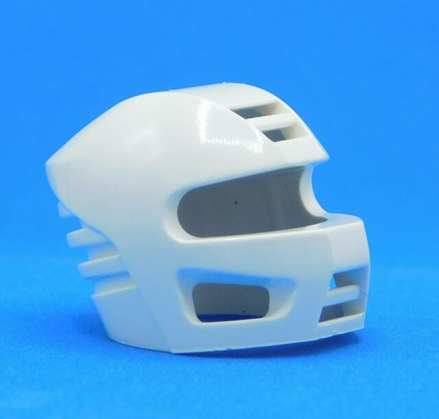 Lego White Technic Figure Accessory Competition Helmet Technic Figure Accessory