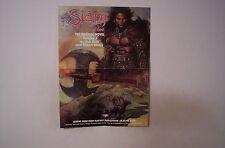 Slaine 1989 Graphic Novel Promotional Poster SIMON BISLEY