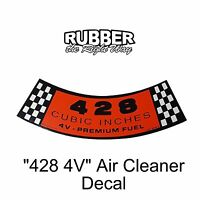 1966 Ford Thunderbird 428 Air Cleaner Decal