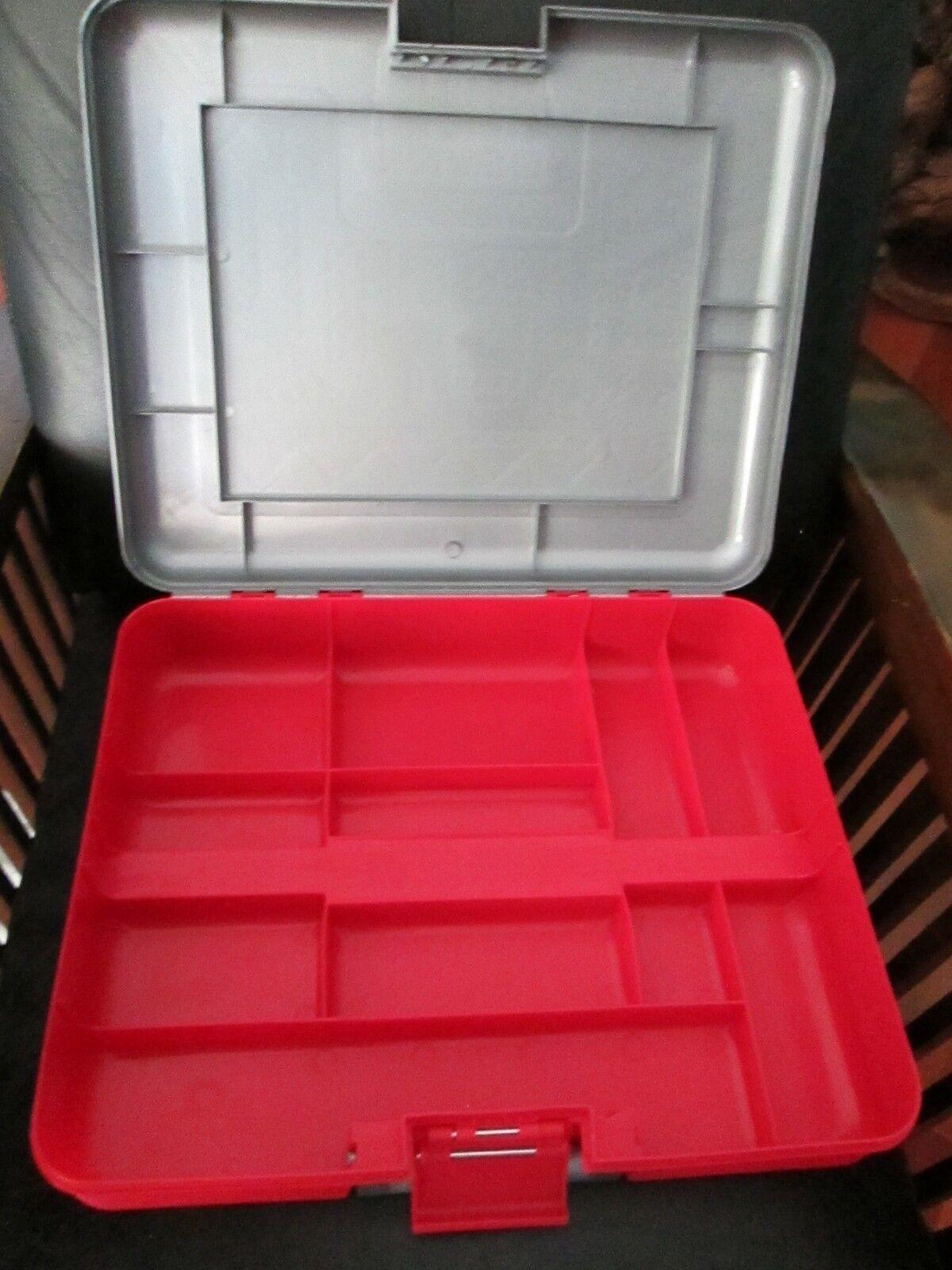 Large 17'x 14  Erector Set Grey & Case Red Case & Meccano 2003 Building Wheels Models c0b384
