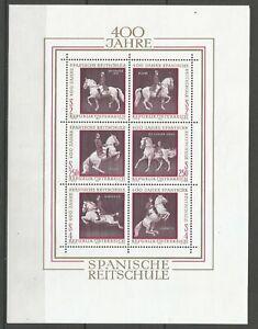 AUTRICHE-Bloc-Feuillet-n-7-neuf-Luxe-1972-MNH