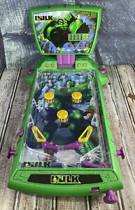 The Incredible Hulk By Marvel Pinball Machine Rare 2003 Tabletop Tested Working