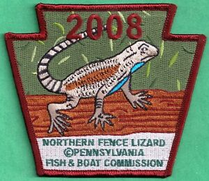 Pa Pennsylvania Fish Commission 2008 Northern Fence Lizard
