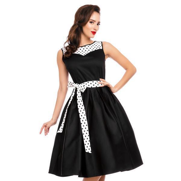 Vestido vintage swing evening party dress polka polka polka dot  V724-1 DOLLY AND DOT |   | Economy  | Am praktischsten  067e05