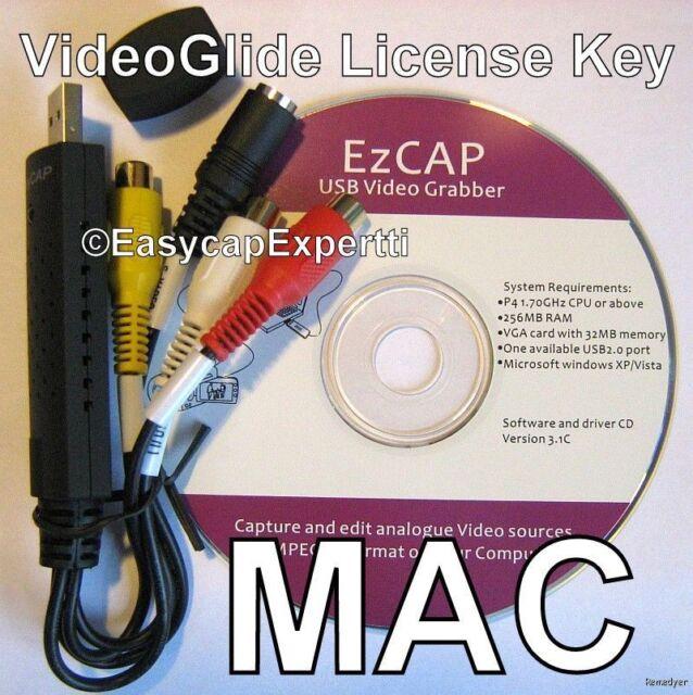 CAPTURE HD SIZE VIDEO,USB Card & VideoGlide key for Mac