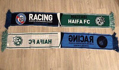 Maccabi Haïfa Coupe D'Europe Uefa RCS RCSA 1 Echarpe Racing Club De Strasbourg