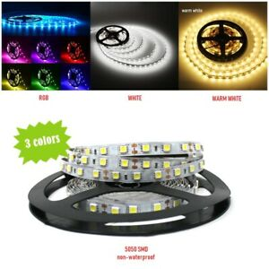 sports shoes 4f478 5ad3a Details about 300 LED Strip Lights 5050 SMD Flexible Tape Non-Waterproof  Rope Light 5M USA