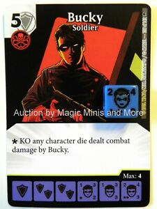Age of Ultron Marvel Dice Masters Bucky James Buchanan Barnes #38