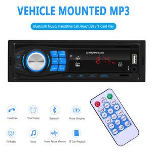 Coche-Radio-Reproductor-Estereo-Bluetooth-FM-MP3-USB-AUX-SD-en-el-tablero-de-la-unidad-principal-de