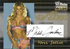 MISS JACKIE 2003 Fleer w/LOVE WWE AUTOGRAPH AUTO CARD #091/100 MS GAYDA HAAS