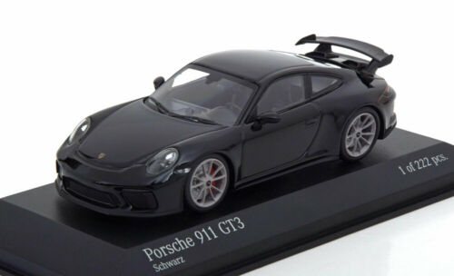 1:43 Minichamps Porsche 911 gt3 2017 Black 991 II