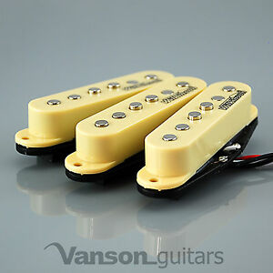 NEW-Set-of-Wilkinson-Vintage-60s-Single-Coil-Pickups-for-Strat-IVORY-MWVS