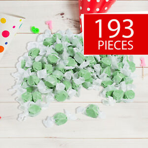 Green Salt Water Taffy -  193 Pieces