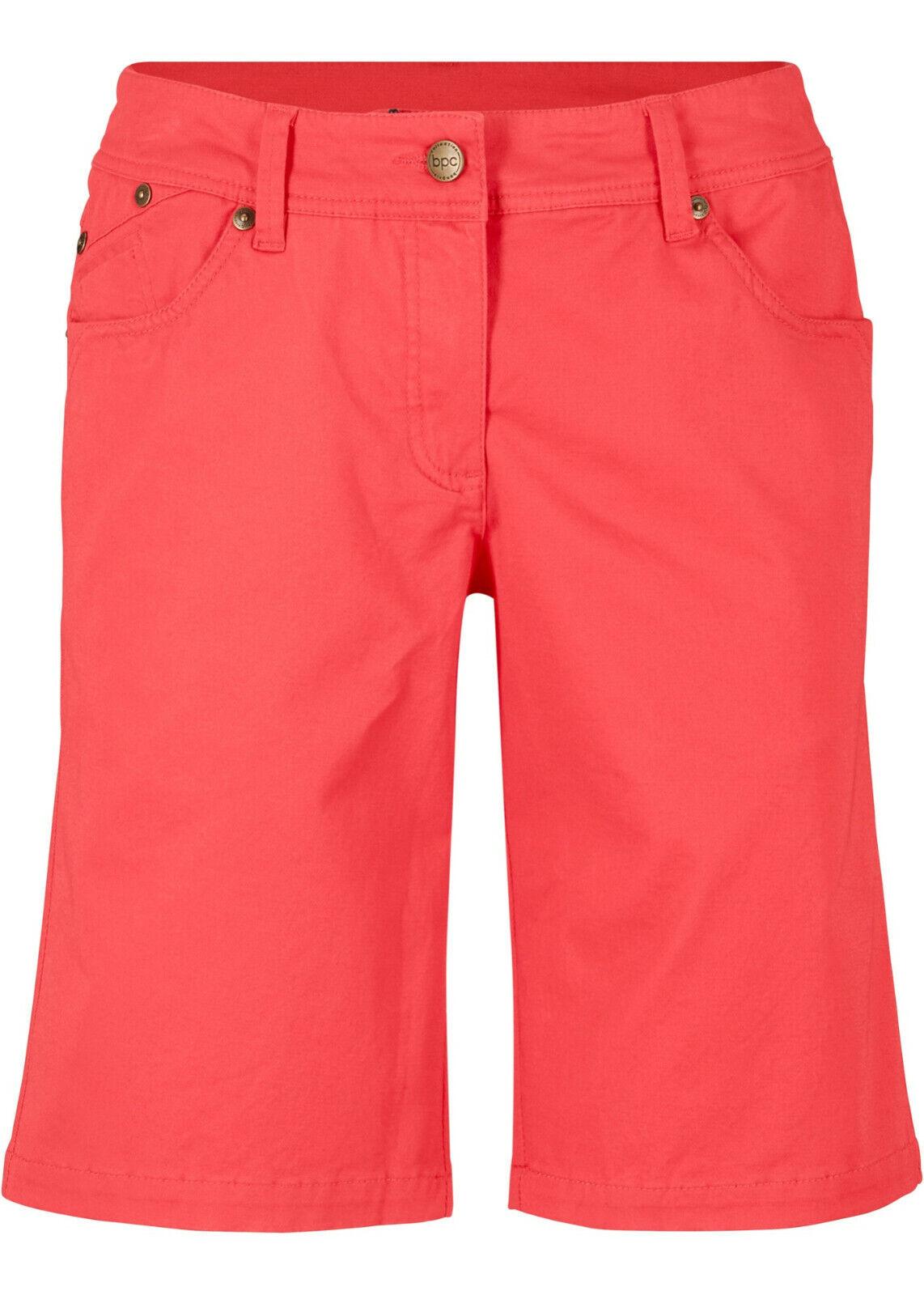 Schöne Bermuda im 5-Pocket-Stil Gr.50 rot