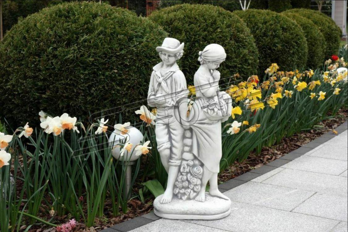 43cm par de diseño escultura personaje estatua jardín figuras estatuas esculturas 87cm