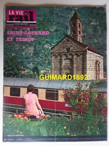 à Condition De La Vie Du Rail N°1241 26 Avril 1970 Saint-gothard Et Tessin