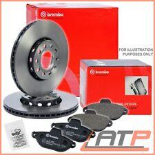 SET PADS FRONT BMW 3 SERIES E90 E91 E92 318-325 BRAKE DISCS VENTILATED Ø300