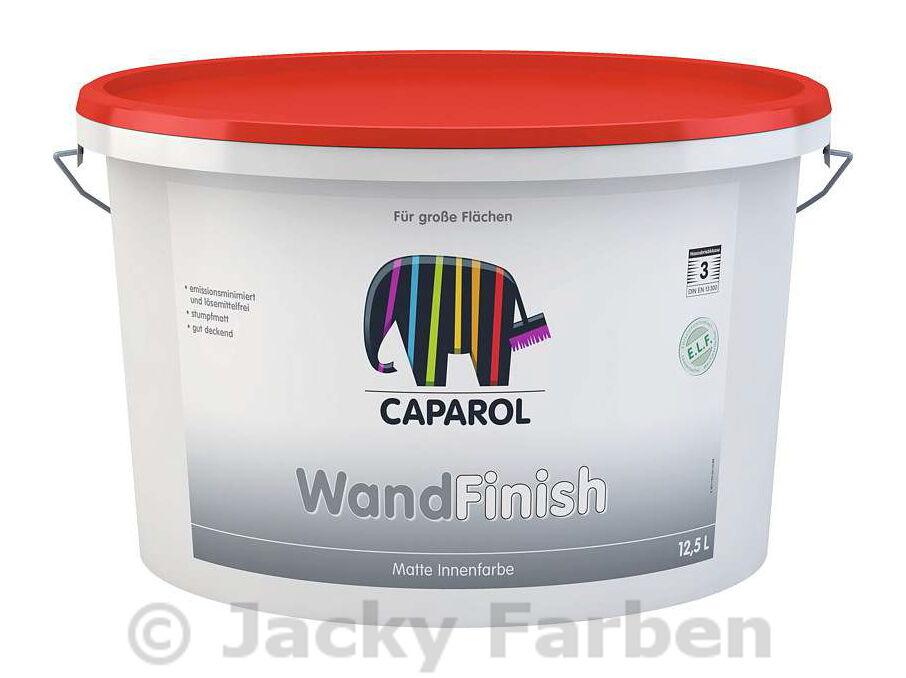12x  Caparol WandFinish 12,5 L Innenfarbe Wandfarbe weiß  ähnlich Capadin