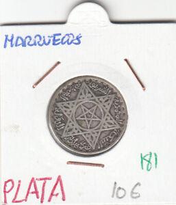 CR0181 MONEDA MARRUECOS PLATA
