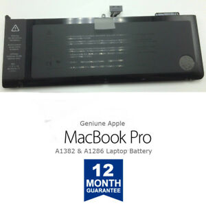 NEW-OEM-Genuine-A1382-Apple-MacBook-Pro-Battery-15-034-A1286-661-5211-Early-2011