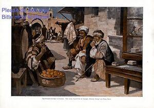 Raucher-in-Jerusalem-XL-Kunstdruck-1916-Georg-Macco-Zigaretten-Sachverstaendige-Z
