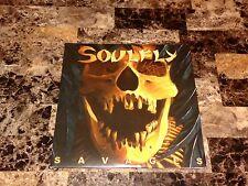 Soulfly Rare SIGNED Max Cavalera Signed Savages Limited Vinyl LP Sepultura Metal