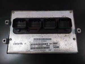 PROGRAMMED KEY PLUG /& PLAY 02 CIVIC EX ATX ECM ECU COMPUTER 37820-PLR-L54 US