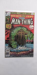 Man-Thing-comics-lot