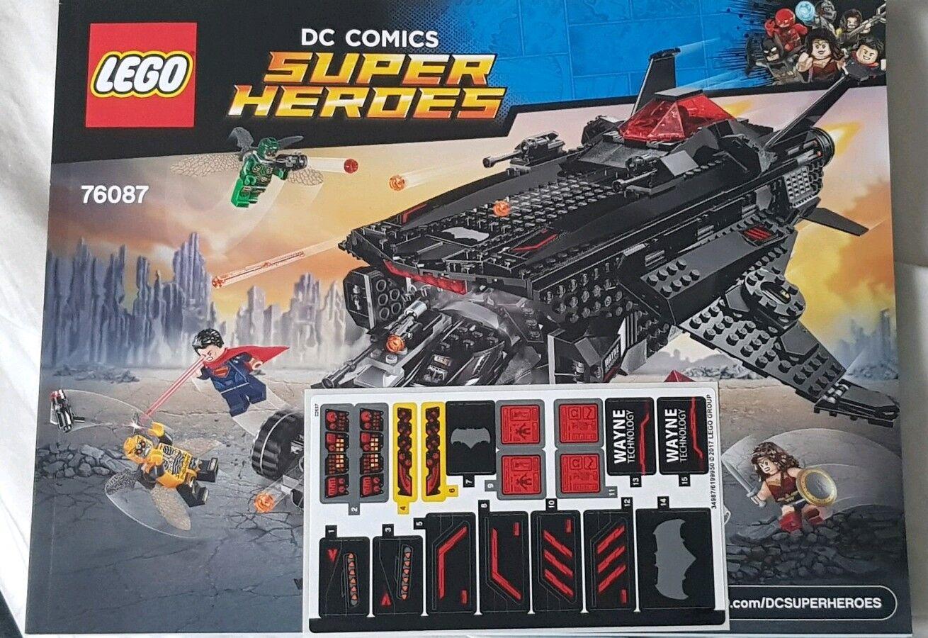 LEGO Super Heroes  The Flying Fox Batmobile 76087  No Minifigures  No Box