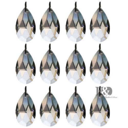 10x Prisma Kugel Glas Kristall Deko 38mm für Pendelleuchte Kronleuchter licht