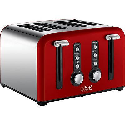 RUSSELL HOBBS Windsor 22831 4-Slice Toaster Red