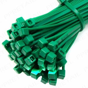 Enjoyable 25 Green Cable Zip Tie 100Mm Strong Plastic Gardening Wire Wiring Digital Resources Antuskbiperorg