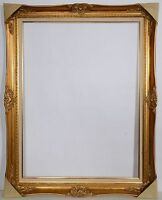 "30X40 Antique Gold Frame ~ 4.5"" Wide With Liner  ~ Beautiful ~ New"
