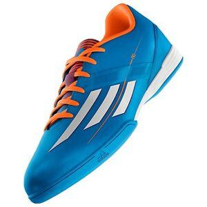 Détails sur Adidas F10 IN Indoor Futsal Football Chaussures solaire bleu afficher le titre d'origine