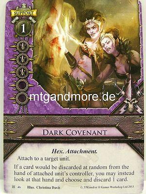 Cataclysm Warhammer Invasion 1x #046 Dark Covenant