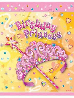 Party Supplies - Australia - Pretty Princess Loot Lollie Bags / containers