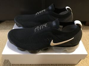 da713114c27b Nike Air Vapormax Flyknit Moc 2 Women sz 12 Black Light Cream White ...