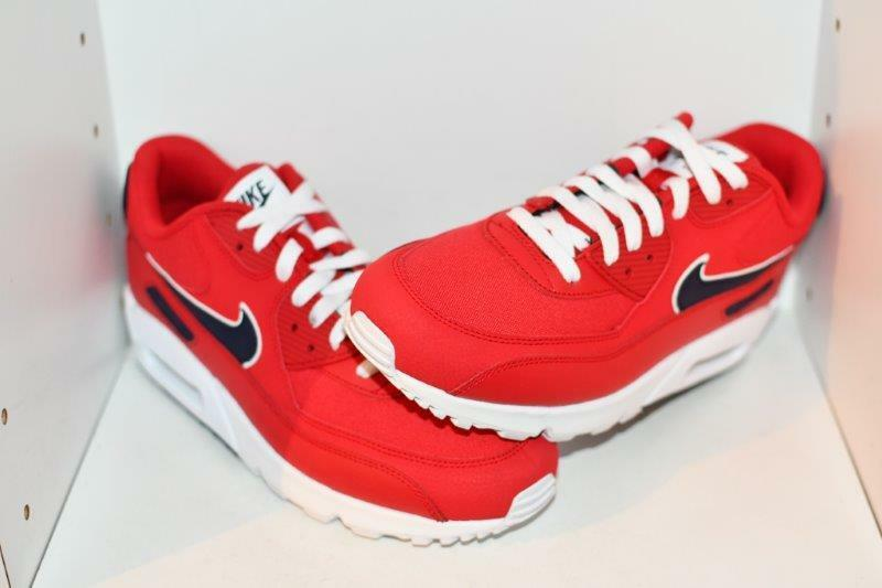 NIKE AIR MAX 90 ESSENTIAL MENS RUNNING SHOES - MENS SIZE  9