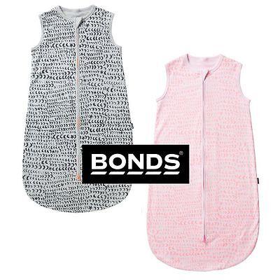 BONDS BABY GIRLS BOYS SUMMER LIGHTWEIGHT SLEEPING BAG SLEEPWEAR COTTON BYA3A