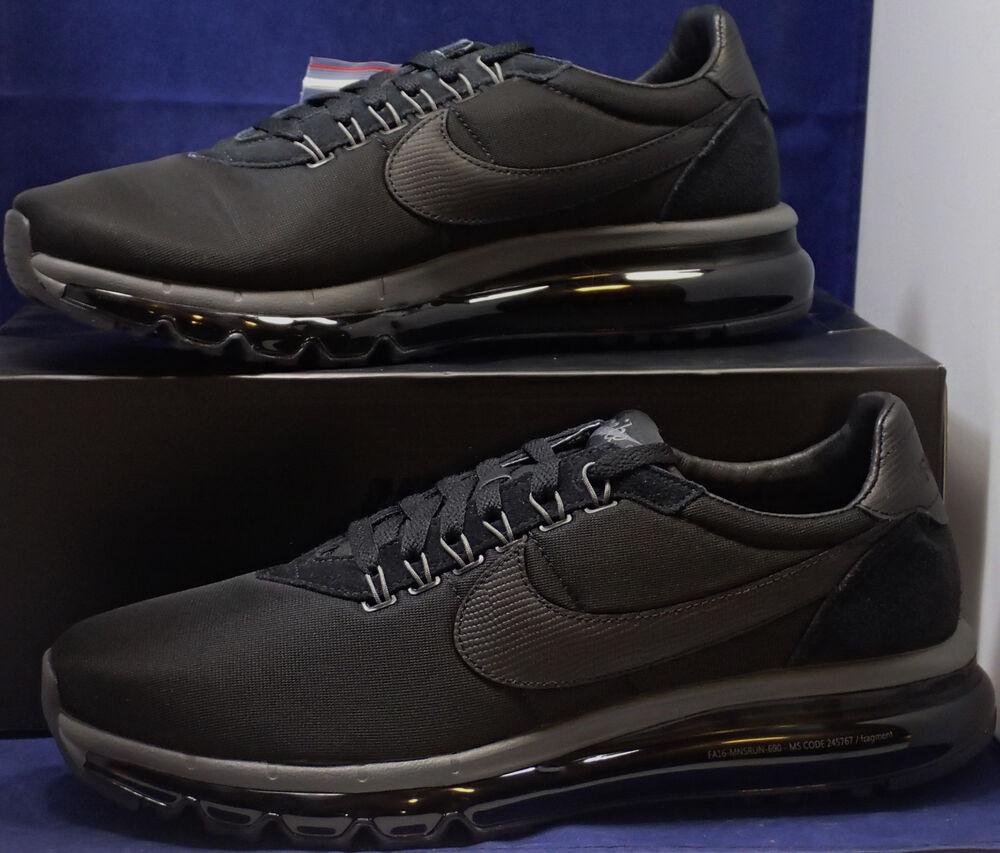 Nike Air Max Ld-Zero / Fragment noir Light Graphite Gris Sz 10.5 (885893-001)