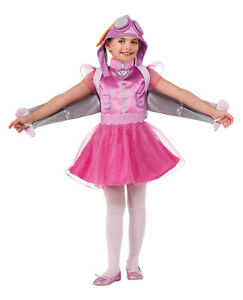 Skye Paw Patrol Child Girls Costume Puppy Dog Fancy Dress Halloween Rubies