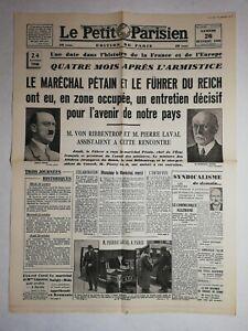 N1138-La-Une-Du-Journal-Le-Petit-Parisien-26-Octobre-1940