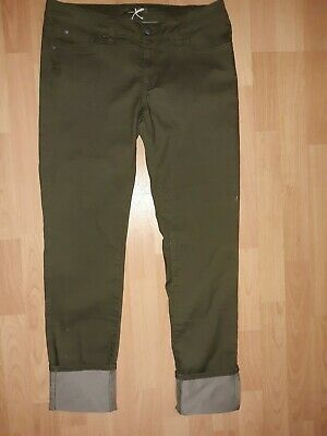 94a8c43dda78 prAna KARA Jean Low Rise Slim Fit Cargo Green Jeans Pants Womens sz 10-30