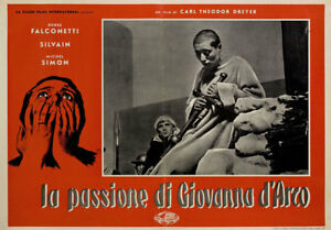 The Passion of Joan of Arc R1959 Italian Fotobusta Poster | eBay