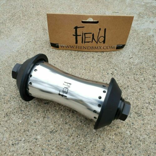 FIEND CAB FLANGELESS FRONT HUB WITH GUARDS BMX HUBS FIT CULT PRIMO SHADOW